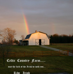 Barn, Ride Irish!